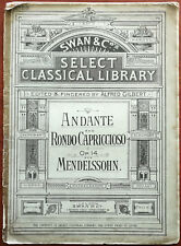More details for mendelssohn andante & rondo capriccioso op. 14, swan & co. – pub. early 1900's