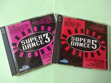 Super Dance 3 + Super Dance 5 - Club Compilation - 1993/1994 - 2 Doppel-CDs