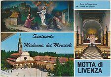 SANTUARIO MADONNA DEI MIRACOLI - MOTTA DI LIVENZA - VEDUTINE (TREVISO) 1980