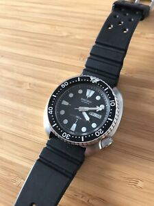 Seiko 6309-7040 turtle dive watch