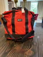 NWT LeSportsac Montana Large Tote Weekender Firey Red Zipper Interior Crossbody