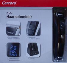 Carrera Profi Haarschneider mit LCD Anzeige 6 Kammaufsätze Feinjustierung / NEU!