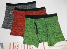 Wonder Nation Cotton Boxer Briefs Boy's size 10-12 Husky New Lot of 3 (F8A1)