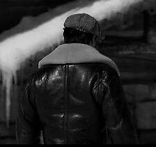 Rocky Balboa B3 Shearling Bomber Jacket by Walter Davoucci NY
