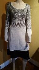 Style Co. Plus Size Long-sleeve Tunic Sweater Warm Taupe Neutral 2x  MSRP $59.50