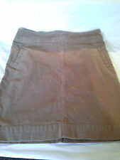 Awesome Whiskey Colored Cord Skirt By Talbots Size 8