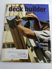 Professional Deck Builder Magazine October 2017 Durable Deck Details, Drainage