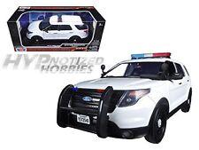 MOTORMAX 1:18  2015 FORD POLICE INTERCEPTOR UTILITY W/ LITE BAR  73541