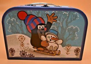 """Kinderkoffer, Spielzeugkoffer, Reisebedarf """"Der kleine Maulwurf"""", Trötsch, NEU"""