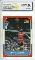 1996 Michael Jordan 📈Decade Of Excellence Fleer💎GEM Mint WCG 10 - PSA Them