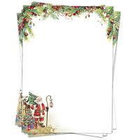50 Blatt Briefpapier A4 Motivpapier Bastelpapier Weihnachten Weihnachtspapier 5