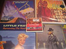 LITTLE FEAT ENOUGH FUN CLASSIC RECORDS + FEATS + MAMBO + BEST OF 4 LP SET + 5 CD