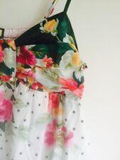 Tropical  Holiday Floral Maxi Dress. London's Vivi Boutique. Sz M