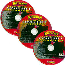 Karaoke  Chartbuster 3 Disc CD+G 5120 One Hit Wonder vol-1 70's 80's IN NEW CASE
