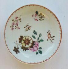 China Teller Porzellan 18Jh Famille Rose porcelain saucer 18th Chine de commande