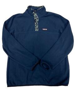 PATAGONIA Synchilla Micro D Men's Snap Fleece Pullover Sweater Size Medium