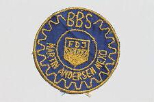 23263 Sticker Aufnäher BBS Martin Andersen Nexö Riesa VEB Stahl- u. Walzwerk DDR