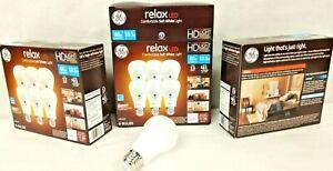 Lot of 18 BULBS GE Relax High Definition LED Light Bulb 10.5 watt 2700K Dimmable