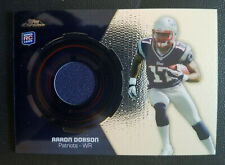 2013 Topps Chrome Rookie Relics #RRAD Aaron Dobson RC Rookie Card