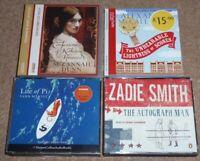 4 FICTION AUDIO BOOKS CD LIFE OF PI/ZADIE SMITH/McCALL SMITH/SUZANNAH DUNN