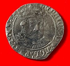 More details for henry viii hammered groat facing portrait tower 1544-47  coin wrl reproduction.