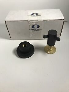 California Faucets Double Robe Hook, 65-DRH-MBLK, Mat Black Finish, NEW