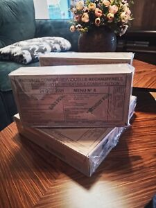 MRE French Military Food Ration 24 hour Combat Daily Pack RCIR FRANCE