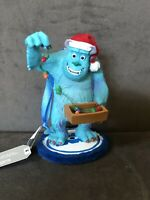 Disney Pixar Sully Monster's Inc Christmas Figure Ornament Disneyland NEW w/ TAG