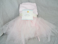 Pottery Barn Kids Easter Basket Liner Pink Tulle Tutu Large ABIGAIL Monogram New