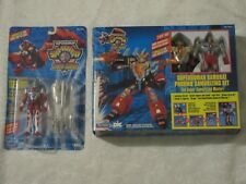 SuperHuman Samurai Syber-Squad Phormo Samurizing Set & Servo Lot of 2 Gridman
