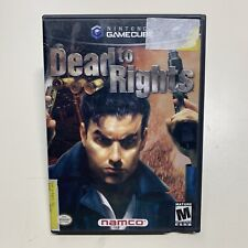 Dead to Rights - Complete Authentic Nintendo GameCube Game FREE SHIPP