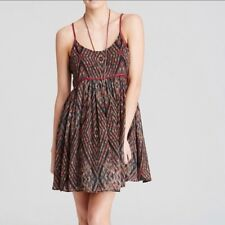 Free People Periscopes In The Sky Babydoll Dress Size Small Chiffon