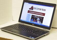 Dell Latitude E6530 Laptop 2.6GHz i5  4GB 320GB Webcam DVDRW  - SP6