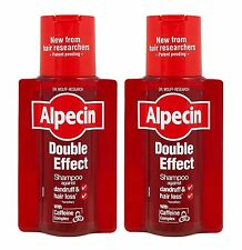 Alpecin Double Effect Shampoo 200ml - Pack of 2