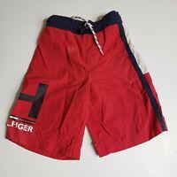 Tommy Hilfiger Red Swim Trunks Boy's Size 4