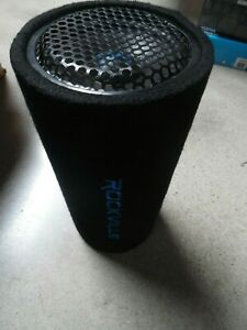 """Rockville RTB12A 12"""" 300w Powered Subwoofer Bass Tube"""