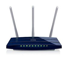 TP-LINK TL-WR1043ND V3 Wireless N300 Gigabit Router, 300Mbps, USB port for St...