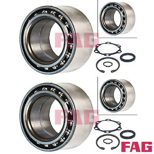 2x Radlagersatz FAG 713623560 2 Radlager Satz links rechts Vorderachse Suzuki