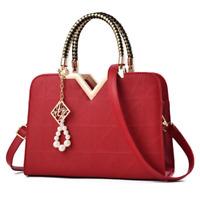Womens Lady Leather Handbag Shoulder Messenger Satchel Tote Crossbody Purse Bags