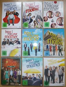 How I met your mother - Die komplette Serie (Season 1 - 9), DVD