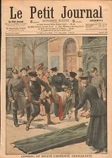 Die Heilsarmee l'Armée du salut Salvation Army Berlin Germany 1907 ILLUSTRATION