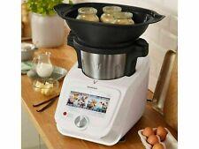 Silvercrest Monsieur Cuisine Connect SKMC 1200 E5 Küchenmaschine - Weiß, 1000W