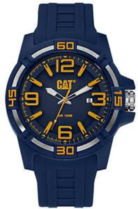 Men's Caterpillar CAT 45mm Blue Watch LI12126637