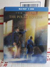 POLAR EXTHE POLAR EXPRESS TOM HANKS NEW SEALED STEELBOOK BLU-RAY + DVD NEW