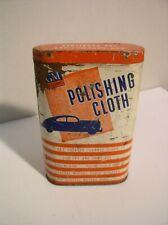 1940's General Motors GM Polishing Cloth Can