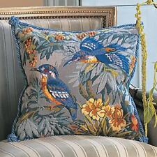 Glorafilia Tapestry/Needlepoint Kit - Kingfishers