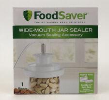 Food Saver WIDE Mouth Jar Sealer Vacuum Sealing Accessory One Top Piece No Hose