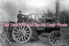 NF 414 - C Burrell & Sons Traction Engine, Thetford, Norfolk - 6x4 Photo
