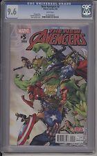 New Avengers #5 / Cgc 9.6 / 0278444021