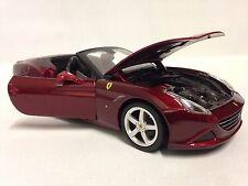 Ferrari California T Race Play,Collectible, Diecast Model Car 1:24,Burago,Conver
